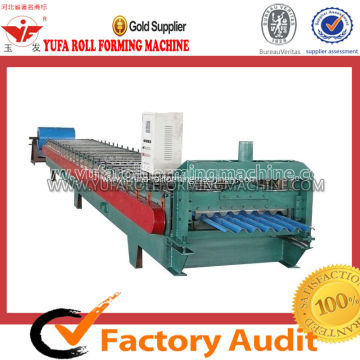 High-end roof sheet crimping curved machine floor tile making